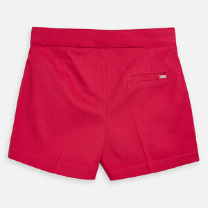 Girls Pink Satin Shorts