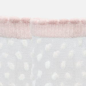 Pink Lace Baby Socks