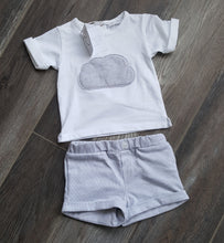 Cloud Short Set - Grey