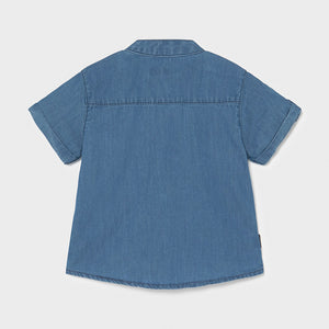 Boys Blue Chambray Shirt - 1116