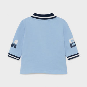 Baby Boys Pale Blue Polo - 1171