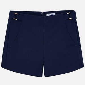 Older Girls Navy Shorts