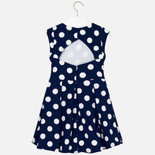 Older Girls Navy Dress