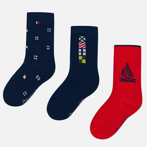 Boys Cotton Socks (3 pack)