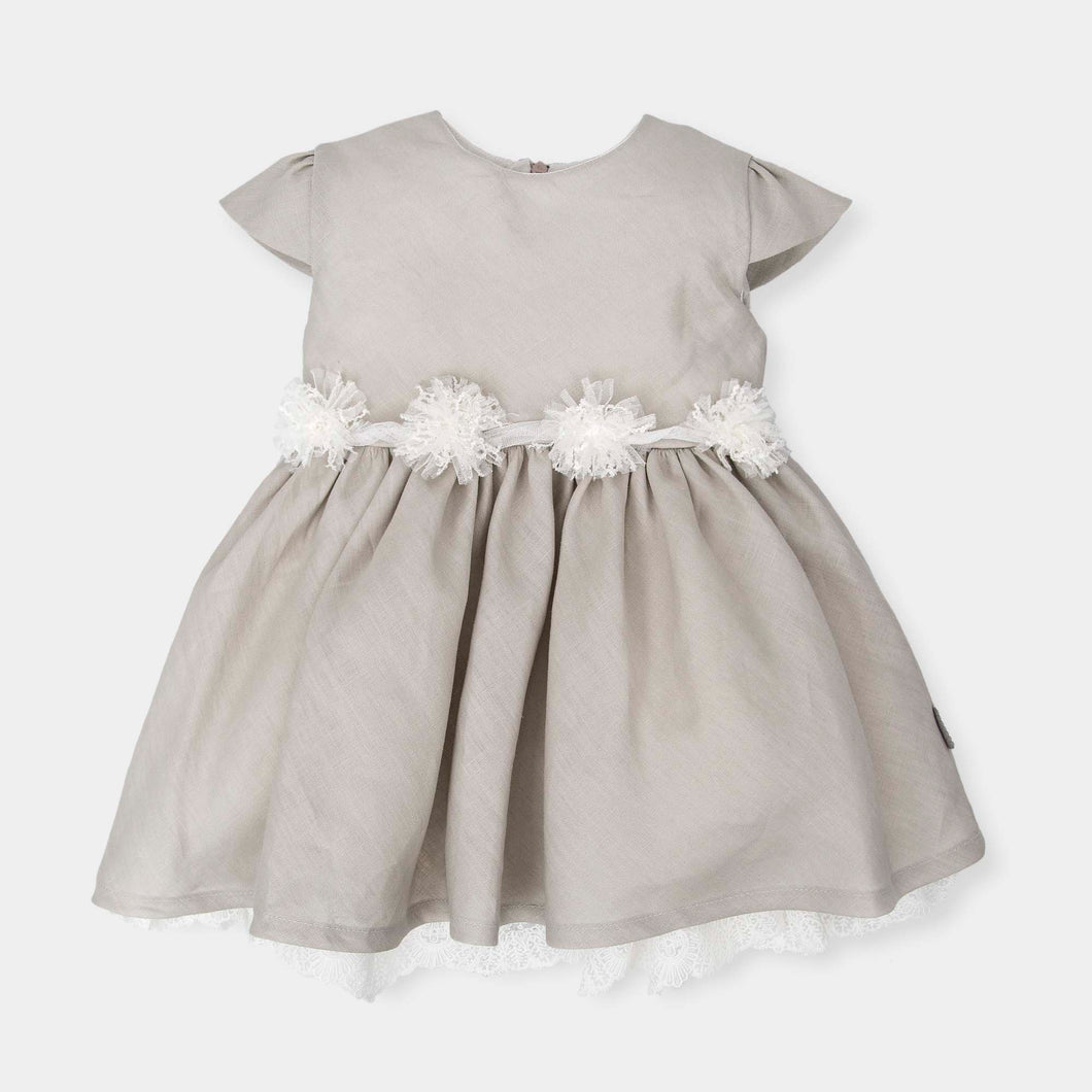 Girls Linen Dress