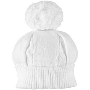 White Bobble Hat