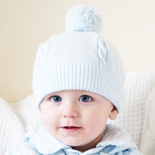 Pale Blue Bobble Hat