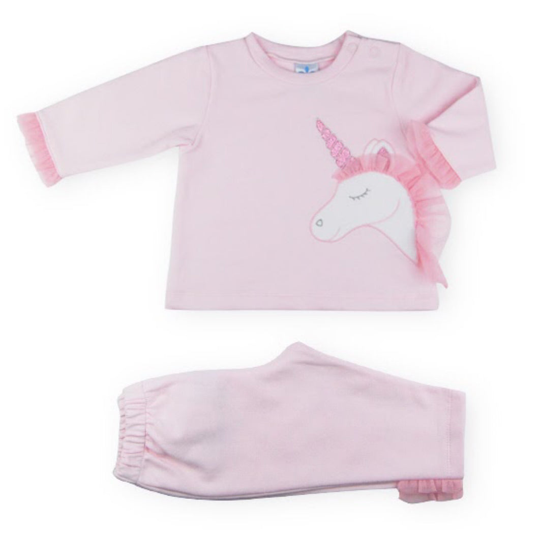 Pink Unicorn Jogger Set