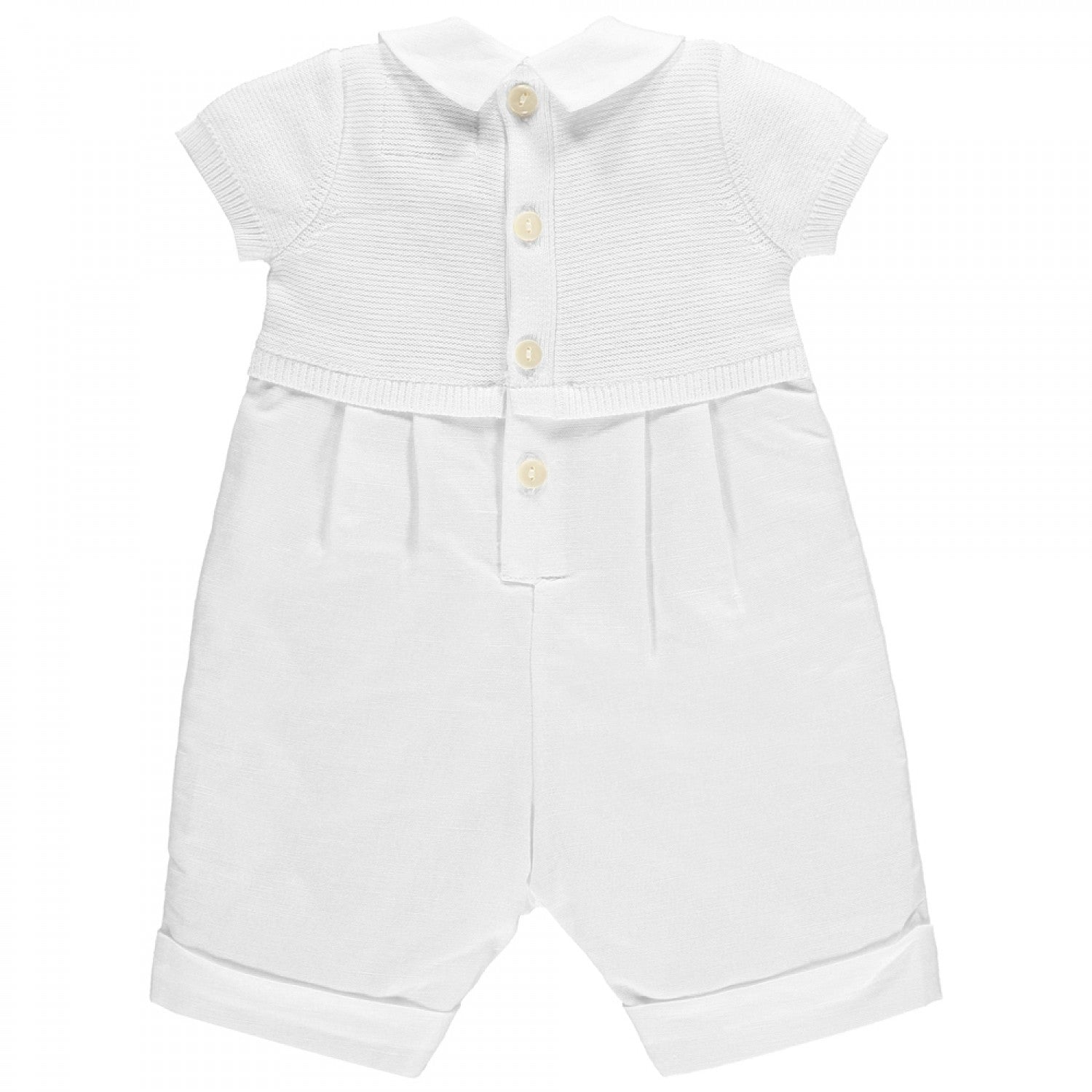 Gerald - Baby Boys Romper with Baker Boys Hat – Adorable Childrenswear d2fd67444fb2