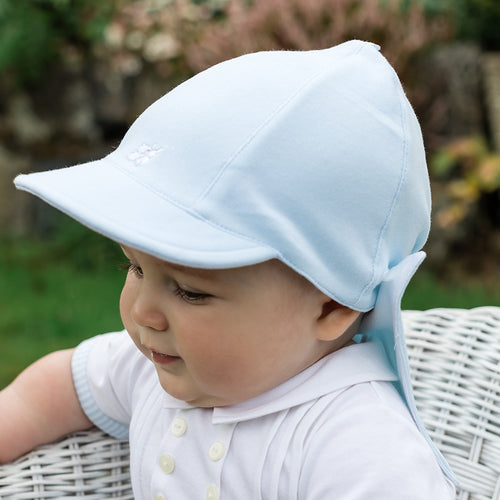Pale Blue Sun Cap