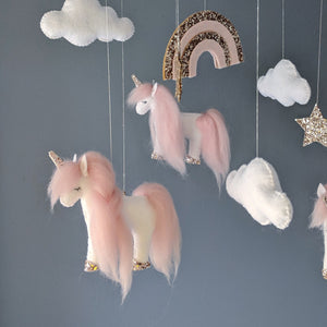 Nursery Mobile - Unicorns