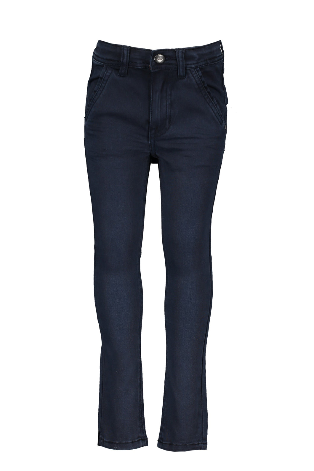 Navy Blue Cotton Chinos