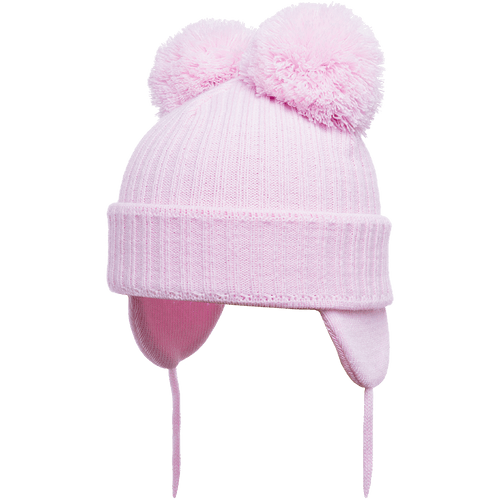 Minnie - Pink Double Pom-Pom Hat