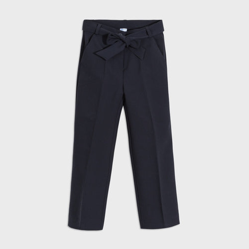 Older Girls Navy Trousers - 7536