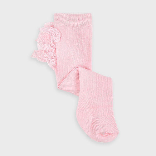 Pink Frill Baby Tights - 9295