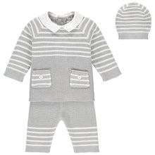 Grey Knitted Outfit (3 piece) - Tanner