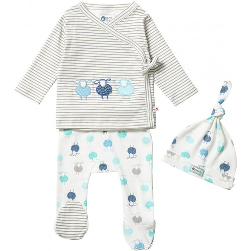 Organic Cotton Baby Set - Sheep
