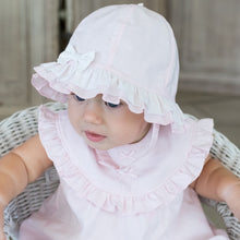 Baby Girls Pink Sun Hat - Gabby