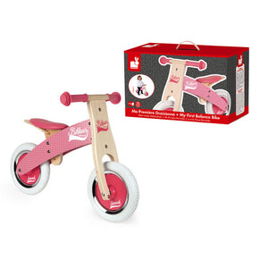My First Pink Little Bikloon Balance Bike