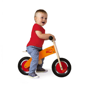 My First Orange & Red Bikloon Balance Bike