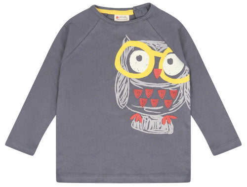 Organic Cotton Owl Top