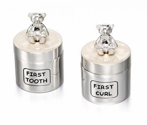 First Tooth & First Curl Keepsake