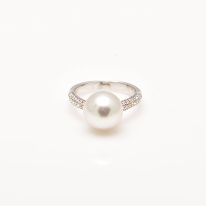 South Sea Pearl and Diamond Dress Ring