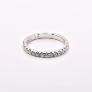 Wedding Ring No. 3 (White Gold)
