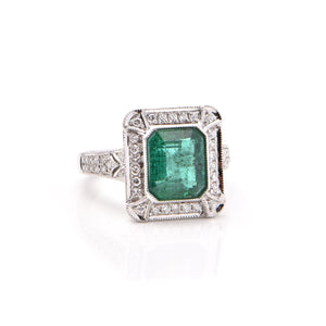 Emerald Ring No. 4
