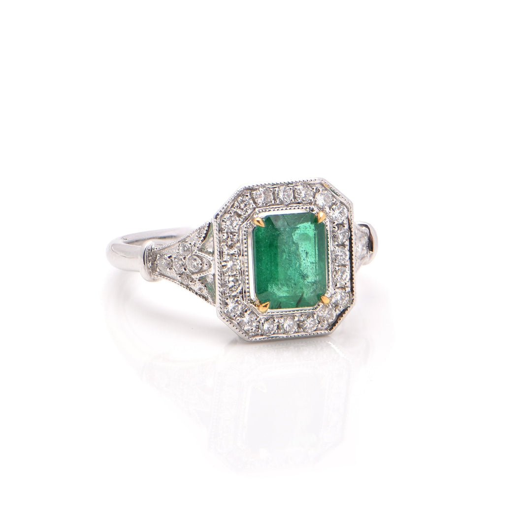 Emerald Ring No. 2
