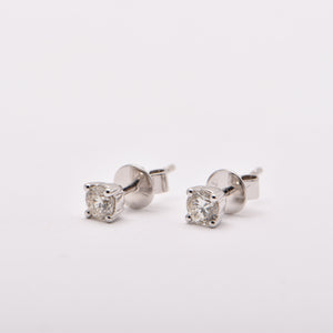 0.33ct Diamond Studs in 18 Carat White Gold