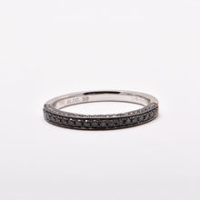 Wedding Ring No. 6 (Black Diamond)