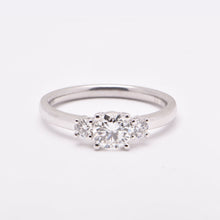 Diamond Trilogy Engagement Ring