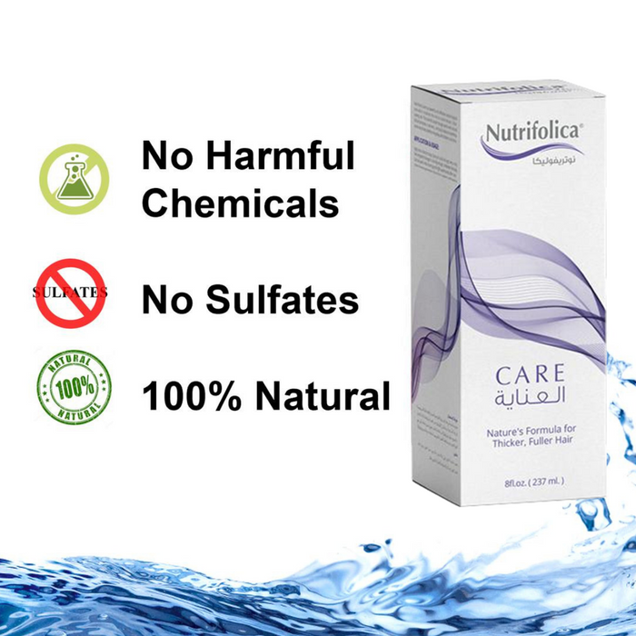 Stop Hair Loss! Nutrifolica Care for Hair Regrowth