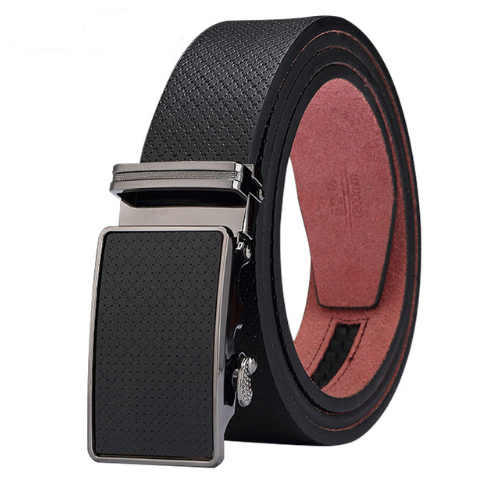 Strap with automatic clasp