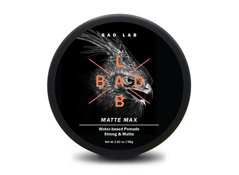 BAD LAB Matte Max Strong & Matte Water-Based Pomade