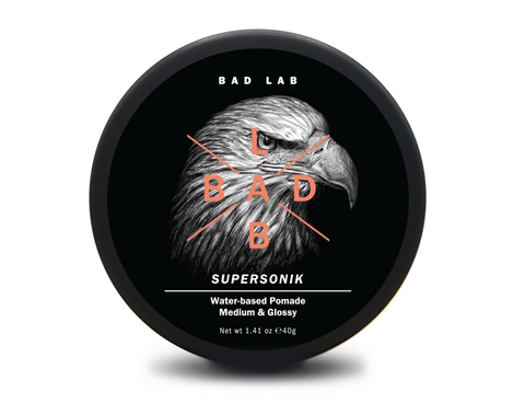 BAD LAB Supersonik - Medium & Glossy Water-based Pomade