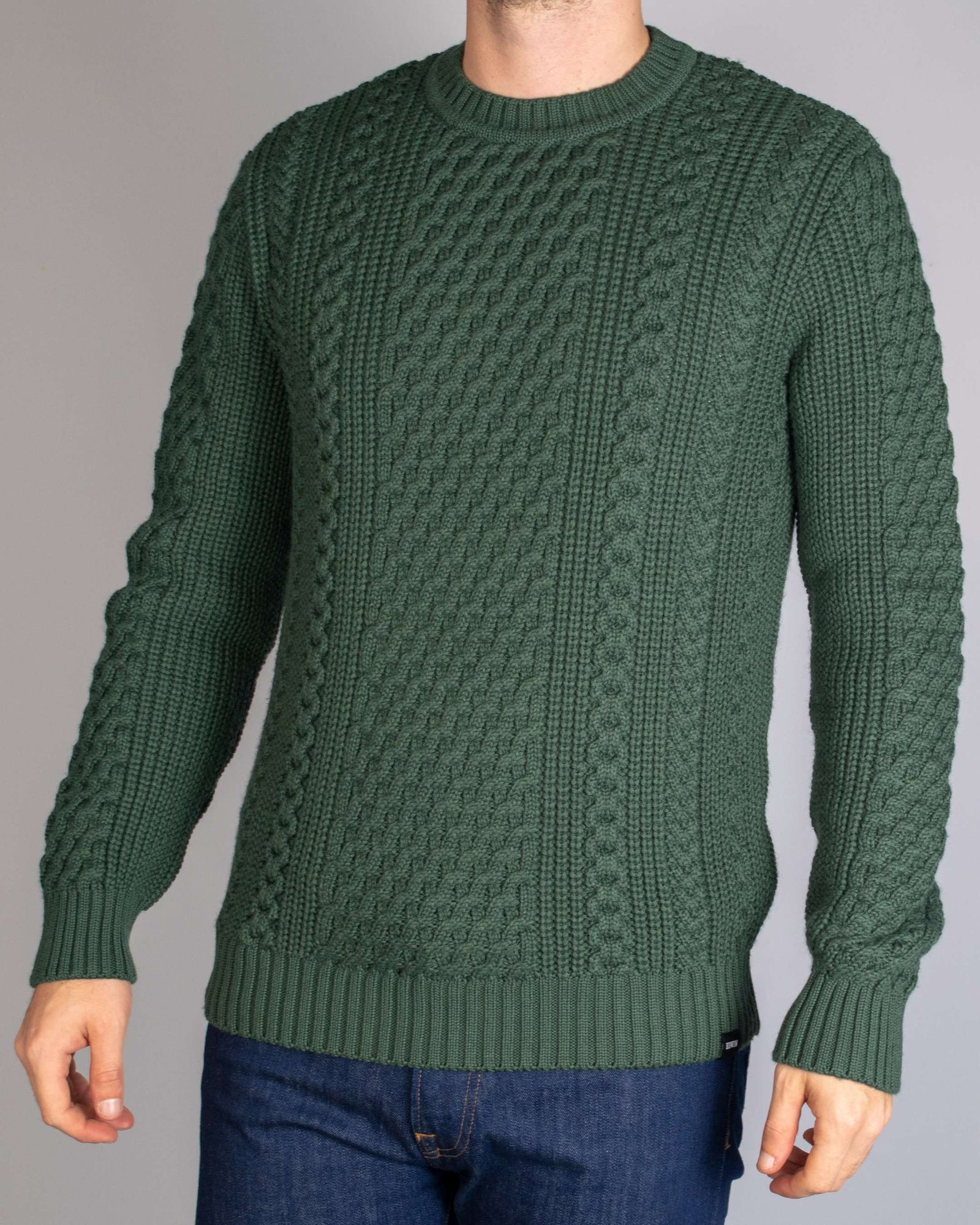Edwin Sycamore United Knitted Jumper - Revolver Menswear Bawtry