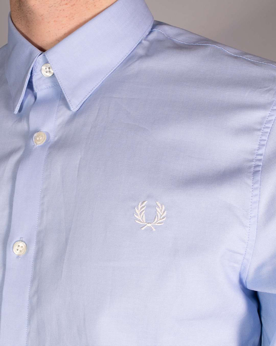 Fred Perry Light Smoke Button Down Shirt