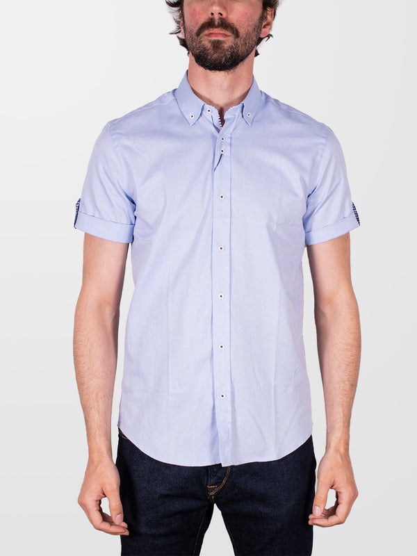 GUIDE LONDON Sky Plain HS Shirt