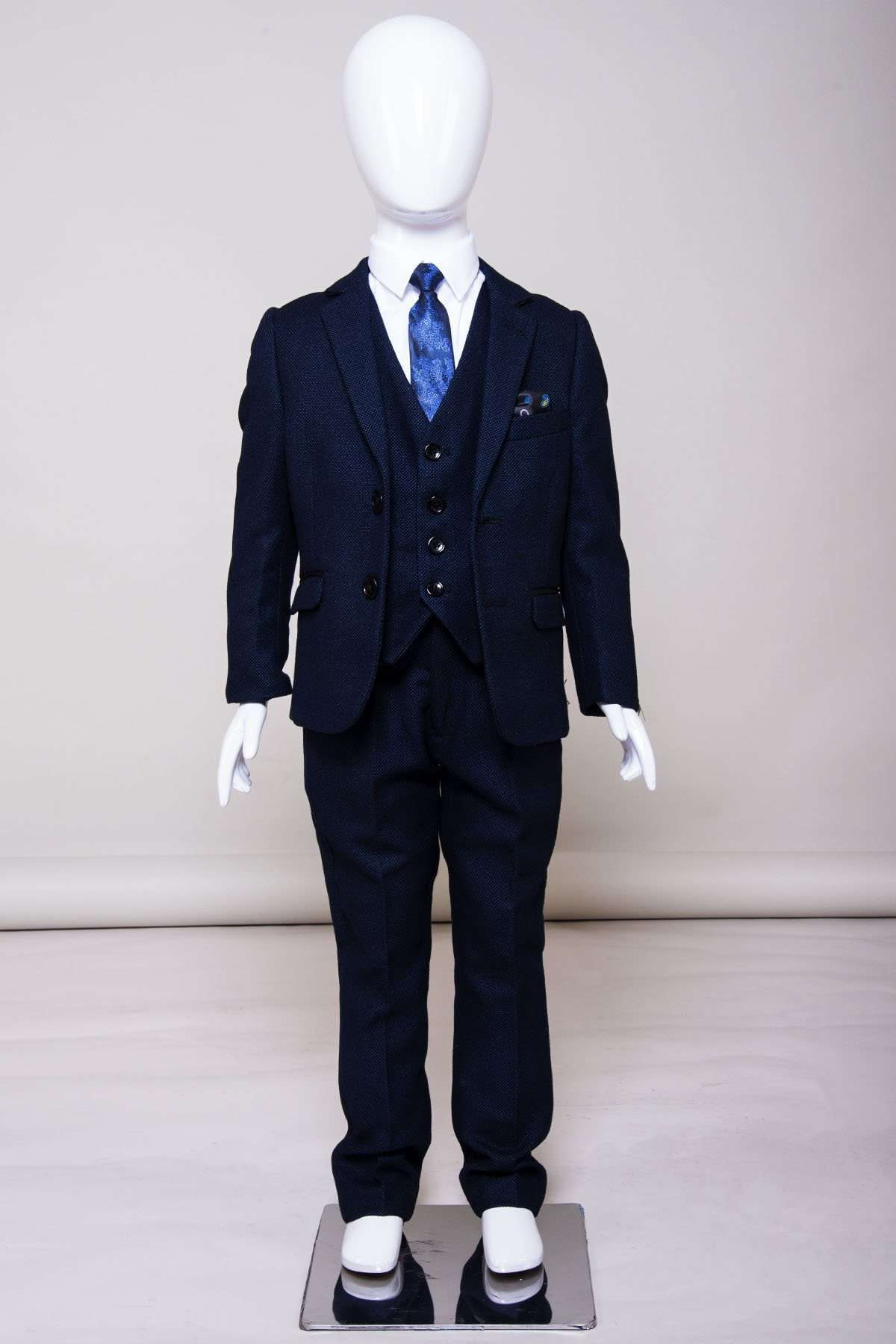 MARC DARCY Harry Kids 3 Piece Suit - Revolver Menswear Bawtry