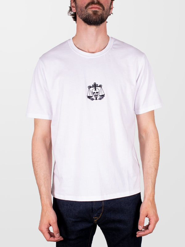 EDWIN White Tattoo SS T-Shirt