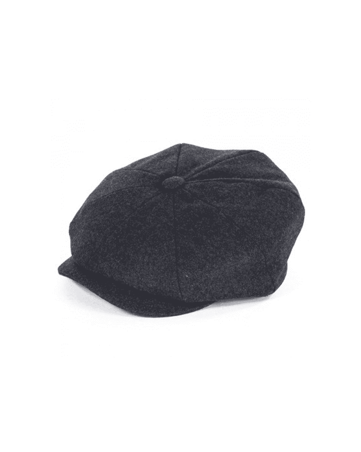 Failsworth Grey Alfie Melton Newsboy Cap