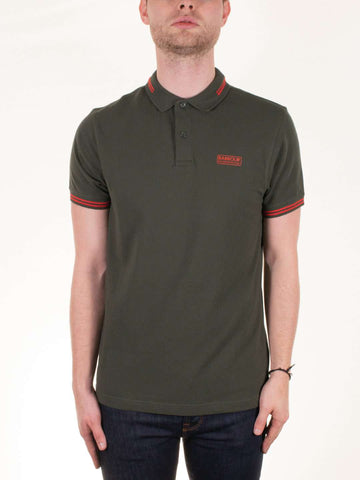 BARBOUR INTL. Essential Tipped SS Polo Shirt - Revolver Menswear Bawtry