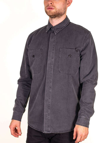 EDWIN Andor Button Up Shirt LS - Revolver Menswear Bawtry