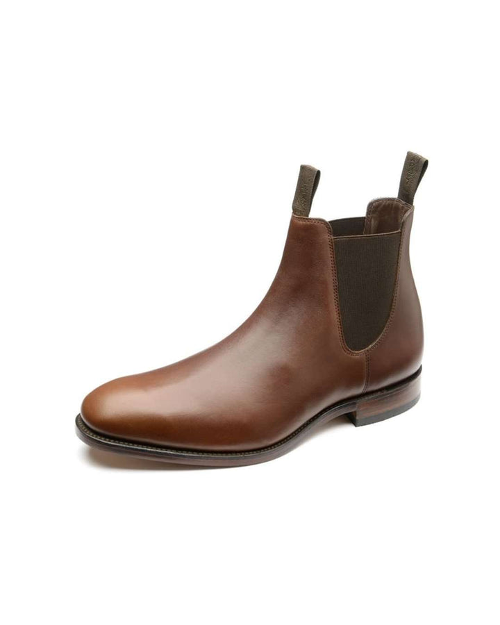 Loake Aspley Waxy Brown Leather Chelsea Boot