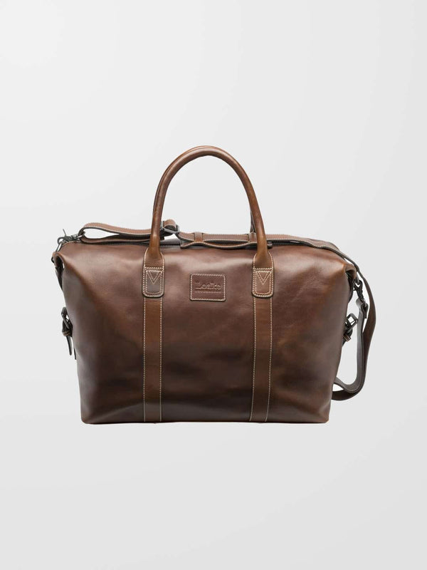 LOAKE Balmoral Leather Weekend Bag