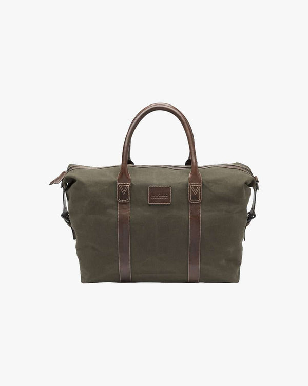 LOAKE Balmoral Canvas Weekend Bag - Revolver Menswear Bawtry