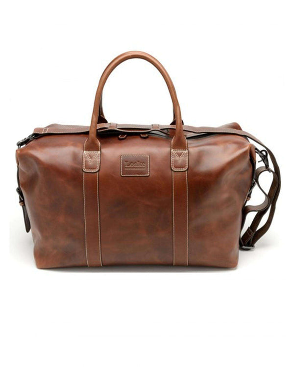 LOAKE Balmoral Leather Weekend Bag - Revolver Menswear Bawtry