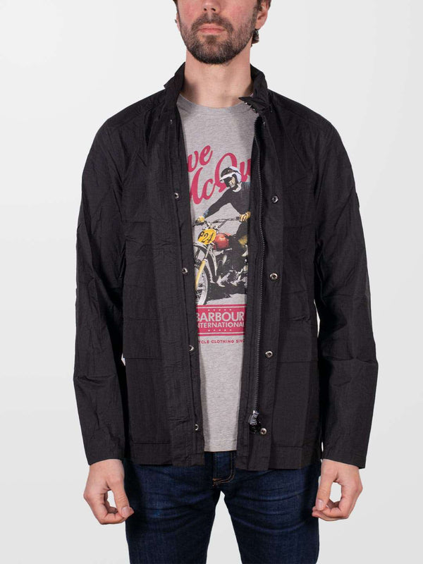 BARBOUR INTL. Black Atholl Casual Jacket
